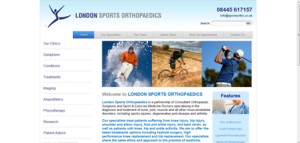 Orthopaedic & Sports consultants web