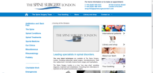 the spine surgery web
