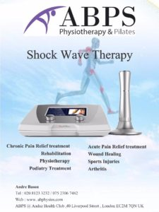 Shockwave therapy liverpool street